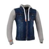 SEGURA textilní jeans bunda Kurt, BLU/GREY